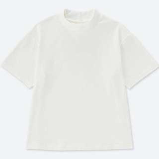 🚚 👉🏻Uniqlo粗紡短袖T恤#女裝半價拉