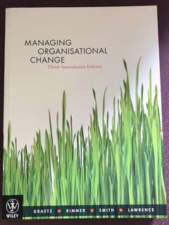 Managing Organisational Change (Third Australasian Edition)