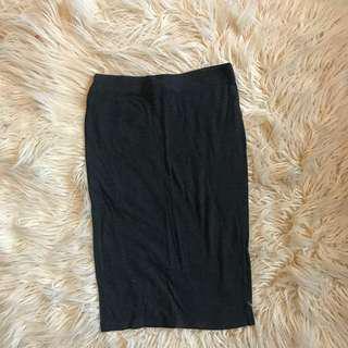 Pencil skirt (gray)