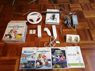 Wii with games fully working
