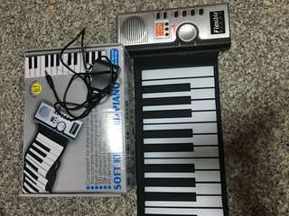 61 key flexible portable piano