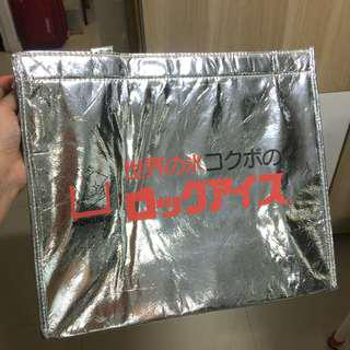 Insulated ice bag