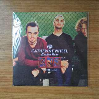 "7"": Catherine Wheels - Broken Nose Single Vinyl Record"