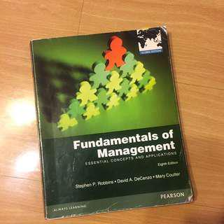 🚚 管理學課本 Fundamentals Of Management