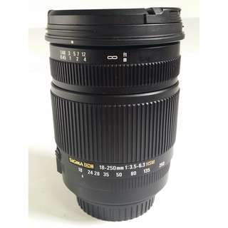 Sigma 18-250mm F3.5-6.3 DC OS HSM For Canon (CL135)