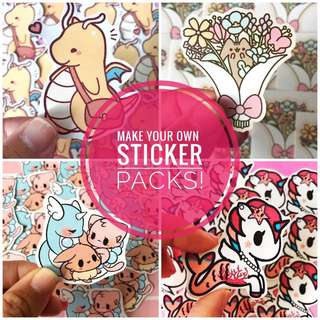 🚚 ✨Make Your Own Sticker Packs✨