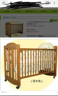 BB床連床褥 baby cot with matress