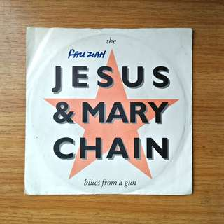 "7"": Jesus & Mary Chain - Blues From a Gun Single Vinyl Record"