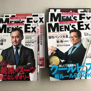 Bundle of Men's Ex back issues