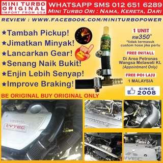 ►JOM Beli! Mini Turbo Ori Makin Pickup! Save Minyak! Laju Mendaki! WHATSAPP 012 651 6289