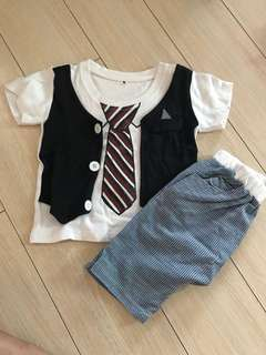 Tshirt with vest