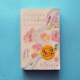 USED BOOK Empires of the Indus: The Story of a River
