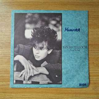 "7"": Ian McCulloch - Proud To Fall Single Vinyl Record"
