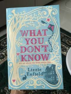 Lizzie Enfield - what you dont know