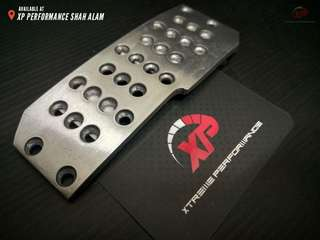 Aluminium Manual RalliArt Style Foot Pedals Covers