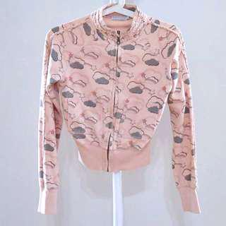 P&Co. Dusty Pink Bomber Jacket