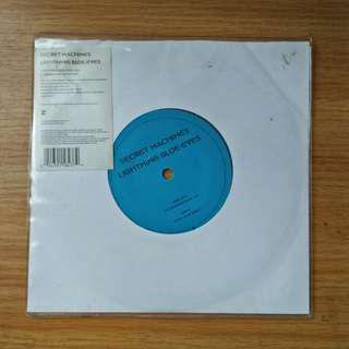 "7"": Secret Machines - Lightning Blue Eyes Single Vinyl Record"