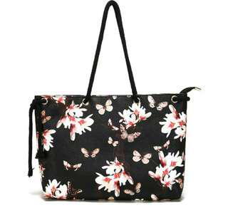 Black Butterfly Handbag