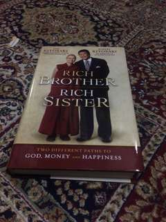 Rich brother rich sister by robert kiyosaki