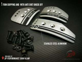 SPARCO Universal Manual Racing Sport Pedal Set