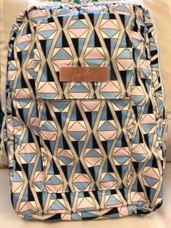 Jujube Rose Colored Glass Rose Gold MiniBe Backpack