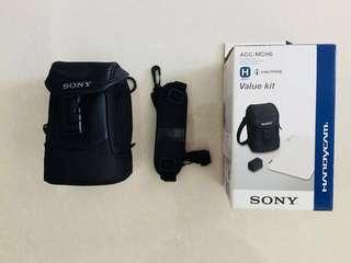 Paper cutter, phone, camera pouch