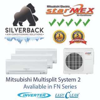 Mitsubishi Aircon (Starmex) Fn Series System 2