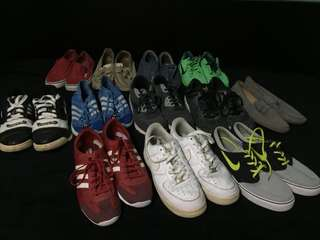 Everything must go sale or swap nike converse adidas sperry
