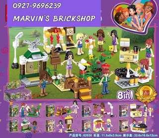 82030 FRIENDS 8in1 Minifigures