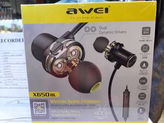 Original/awel X650 BL Wirless Sports earphone