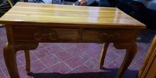 Meja konsol,bahan kayu jati