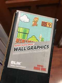 Super Mario Bros. Wall Graphics