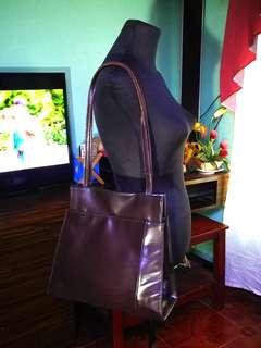 KE AN LIS Leather Bag