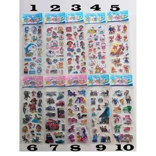 🌟 BNIS 🌟 Cute Cartoon Stickers - Many designs to choose from! Free mailing! #UOBPayNow