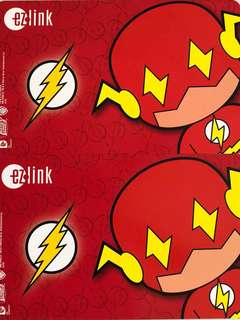 Limited edition brand new DC Comics Flash Red design Ezlink card for $20.