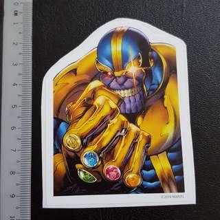 C5 Marvel Infinity Gems Sticker Stickers
