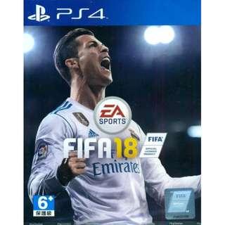 PS4 Fifa 18 (Chn & Eng Sub)