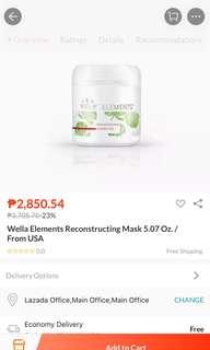 Wella Elements Mask