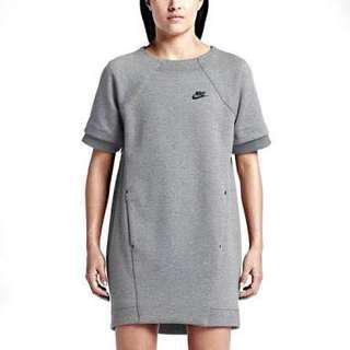 New Nike Tech Fleece dress, size small