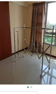 Korean stainless steel clothes drying rack