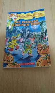 Geronimo Stilton #42 The Peculiar Pumpkin Theif