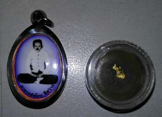 Ajarn Fon amulet and Seepung.