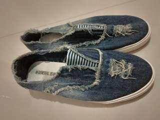 Jeans Flatshoes