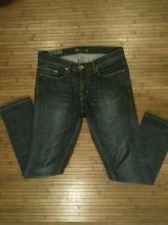 Zara slim fit blue jeans