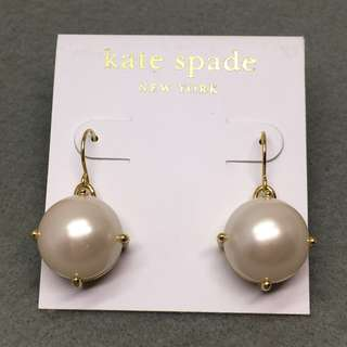 Kate Spade New York Sample Pearl Earrings 珍珠吊墜耳環 直徑1.7 cm