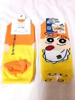 🚚 【現貨】🇰🇷蠟筆小新小葵韓襪