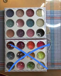 Nail art craft Assorted colors rocks gems glitters