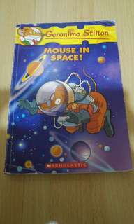 Geronimo Stilton #52 Mouse In Space