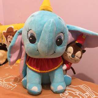 Disney 小飛象 公仔 冒險樂園 namco