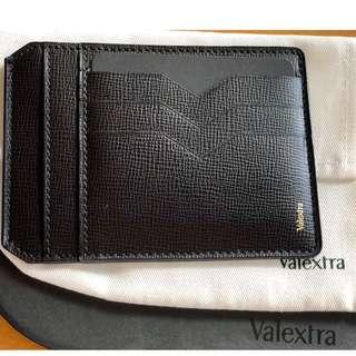 全新 VALEXTRA Card holder 卡片包